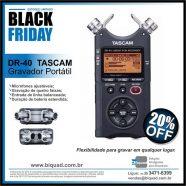 DR-40 TASCAM Black Friday Biquad Broadcast